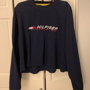 Tommy Hilfiger Cropped oversized long sleeve top